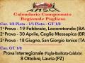 Calendario regionale