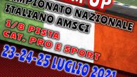 L'Omicron Race in collaborazione con l'AMSCI organizza il 23, 24 e 25 Luglio 2021 a Locorotondo il WARM UP del Campionato Nazionale Italiano AMSCI per la categoria 1/8 Pista. L'evento […]