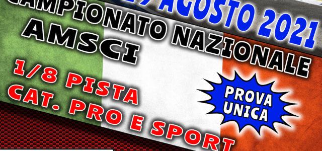 """L'Omicron Race comunica che dal 27 al 29 Agosto 2021 sul Miniautodromo """"Lino Calella"""" di Locorotondo (BA), si svolgerà il Campionato Nazionale AMSCI 1/8 Pista e il GP AMSCI 1/10 […]"""